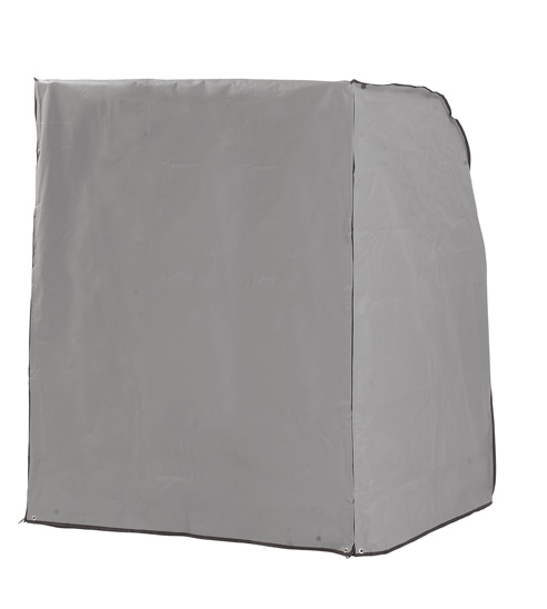 casa di campo schutzh lle grau f r strandkorb zweisitzer xl. Black Bedroom Furniture Sets. Home Design Ideas
